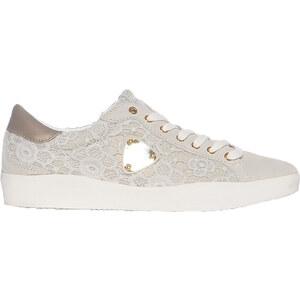Wrangler Footwear Oxid Low Knitted Damen 40 hellgrau