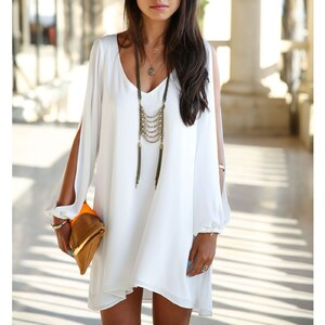 Beautys love Robe - blanc