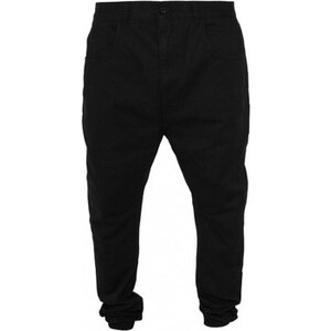 Urban classics Sarouel Pantalon Sarouel Noir Twill Coton