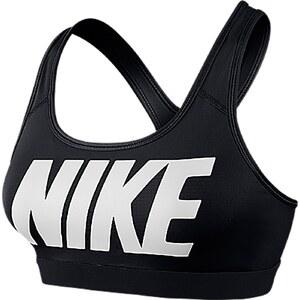 Nike Pro Classic Logo - Sport-BH - schwarz