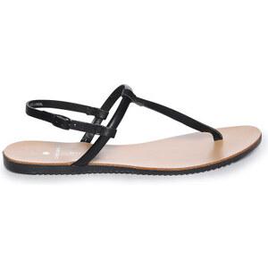 Pieces Taha Leather Sandale black