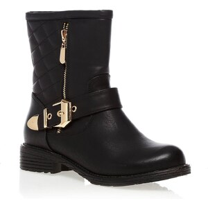 Exquily Boots - schwarz