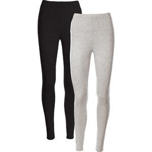 bpc bonprix collection Lot de 2 leggings gris femme - bonprix