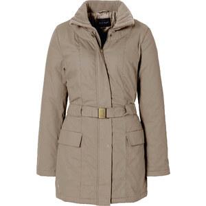 BODYFLIRT Manteau court marron manches longues femme - bonprix