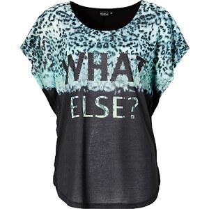 BODYFLIRT T-shirt noir manches courtes femme - bonprix