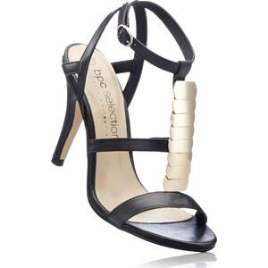 bpc selection Les sandales noir avec 9 cm haut talonchaussures & accessoires - bonprix