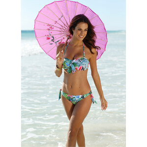 bpc bonprix collection Haut de bikini bandeau fuchsia maillots de bain - bonprix