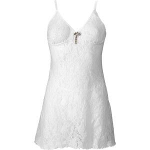BODYFLIRT Nuisette + broche + string, (Ens. 3 pces.) beige lingerie - bonprix
