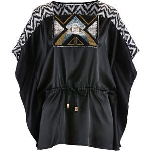 bpc selection premium Tunique avec broderie Premium noire femme - bonprix