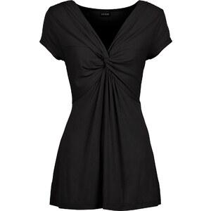BODYFLIRT Top noir manches courtes femme - bonprix