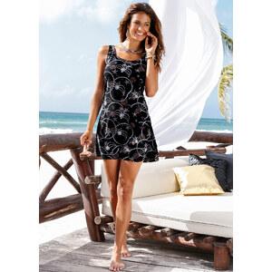 bpc selection Robe de plage matière maillot noir femme - bonprix