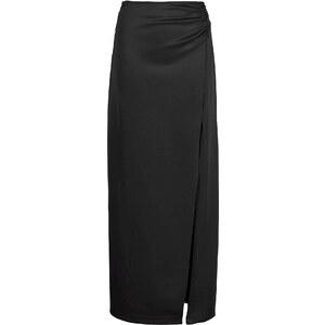 BODYFLIRT Jupe longue noire femme - bonprix