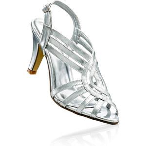 bpc selection Sandales argent femme - bonprix