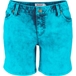 John Baner JEANSWEAR Short en jean extensible bleu femme - bonprix