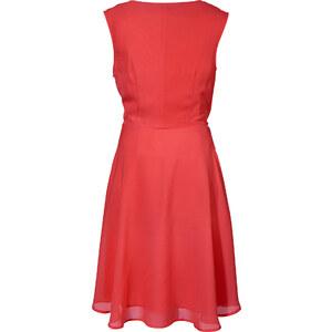 BODYFLIRT Robe rouge sans manches Près du corps femme - bonprix