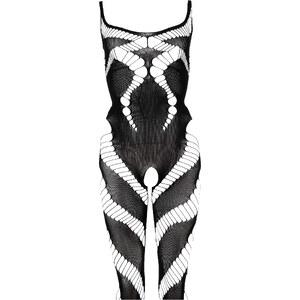 Combinaison ouverte noire lingerie - bonprix