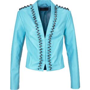 bpc selection premium Veste en simili cuir Premium bleue manches longues femme - bonprix