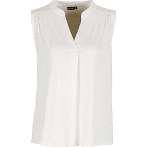 BODYFLIRT Top blanc sans manches femme - bonprix
