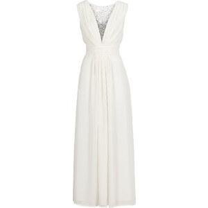 BODYFLIRT Robe longue blanche sans manches femme - bonprix
