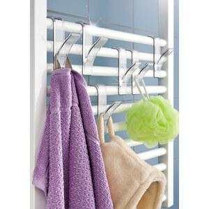 Lot de 6 crochets pour radiateur incolore maison - bonprix
