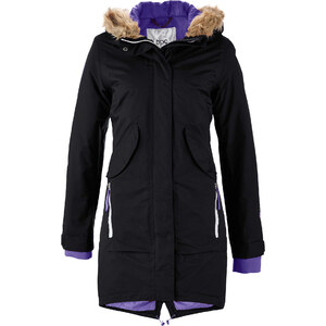 bpc bonprix collection Manteau fonctionnel outdoor noir manches longues femme - bonprix