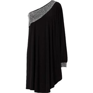 BODYFLIRT boutique Robe noir sans manches femme - bonprix