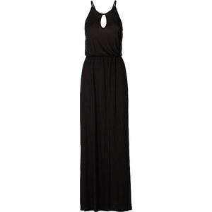 RAINBOW Robe longue noire sans manches femme - bonprix