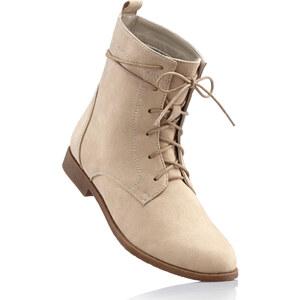 bpc bonprix collection Bottines à lacets beige chaussures & accessoires - bonprix