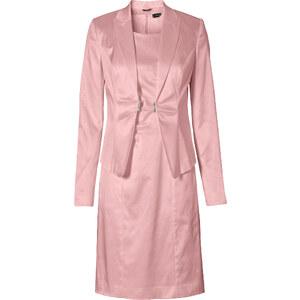 BODYFLIRT Tailleur robe + blazer (Ens. 2 pces.) rose femme - bonprix
