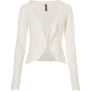 BODYFLIRT boutique Boléro blanc manches longues femme - bonprix