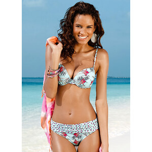 BODYFLIRT Slip de bikini multicolore maillots de bain - bonprix