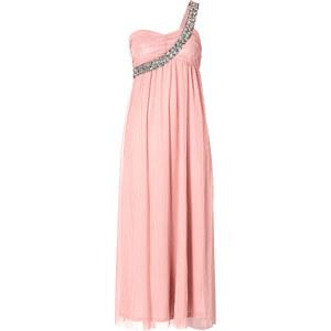 BODYFLIRT Robe longue asymétrique rose sans manches femme - bonprix