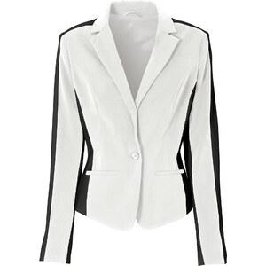 BODYFLIRT boutique Blazer blanc manches longues femme - bonprix