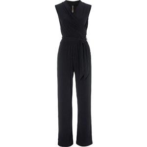 BODYFLIRT boutique Combipantalon noir sans manches femme - bonprix