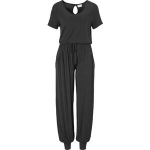 bpc bonprix collection Combinaison de relaxation noir manches mi-longues femme - bonprix