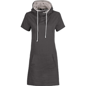 RAINBOW Robe d'été: Robe grise femme - bonprix