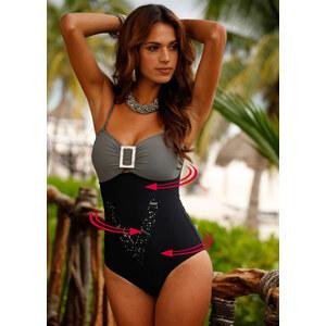 bpc selection premium Maillot 1 pièce modelant Premium noir maillots de bain - bonprix
