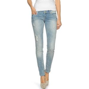 Only Coral Superlow Skinny Jeans Damen Jeans 29-32 light blue denim