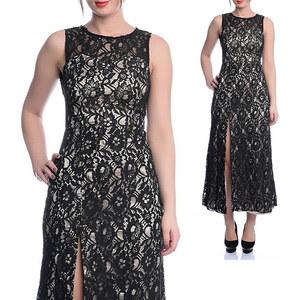 Lesara Kleid mit Spitze - 36