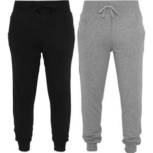 Lesara Urban Classics Damen-Sweatpants Einfarbig - Schwarz - S