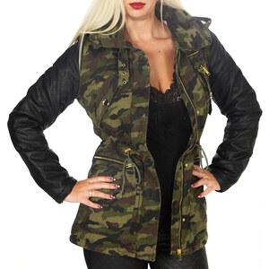 Orice Style Damen-Parka im Armee-Look - Grün - S