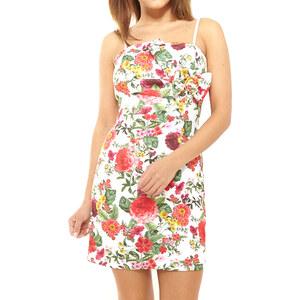 Lesara Kleid mit Blumen-Print