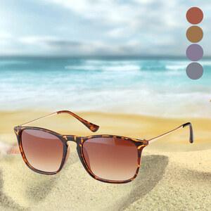 Lesara Klassische Sonnenbrille - Schwarz