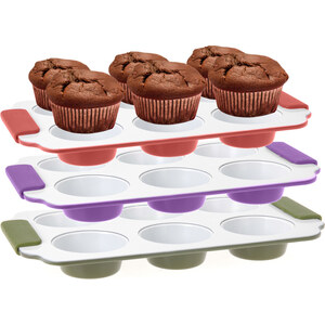 Lesara Muffinform für 6 Muffins - Grün