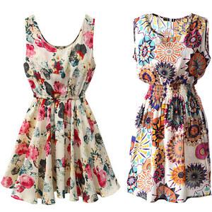 Lesara Ärmelloses Kleid - Pink - S
