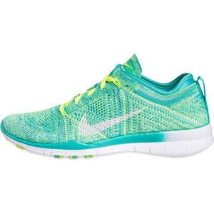 Nike Fitnessschuhe FREE TRAINER FLYKNIT grün