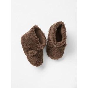 Gap Furry Bear Booties - Camel hair