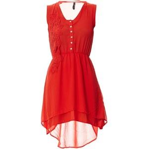 Mystic Kleid mit kurzem Schnitt - orange