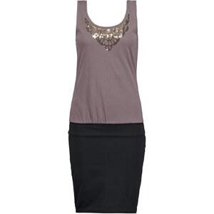 Even&Odd Jerseykleid grey/black