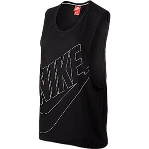 Nike Signal Tank Muscle - Trägertop - schwarz